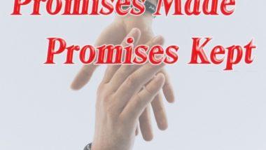 Promises Made Promises Kept by Dr Jimmy Henry